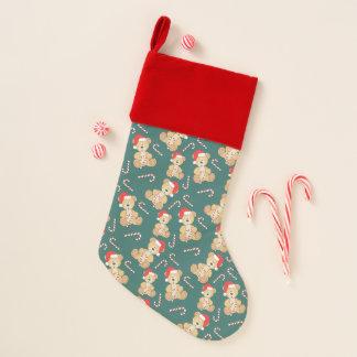 Christmas Teddy Bear Christmas Stocking