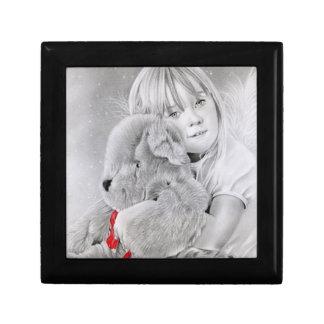 Christmas Teddy Bear Gift Box