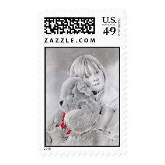 Christmas Teddy Bear Gift Postage