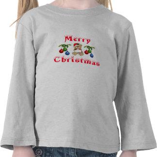 Christmas Teddy Bear & Lights Long Sleeves T Shirts