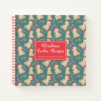 Christmas Teddy Bear Notebook