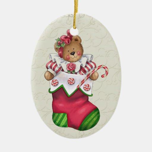 Christmas Teddy Bear Christmas Tree Ornaments