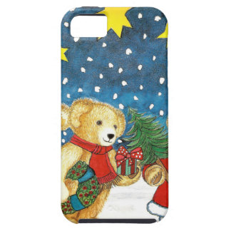 CHRISTMAS TEDDY BEAR WITH GIFTS iPhone SE/5/5s CASE