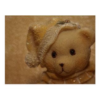 Christmas Teddy by Tutti Postcard