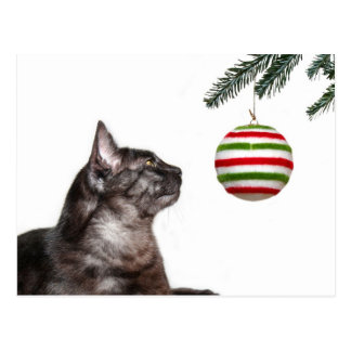 Christmas temptation postcard