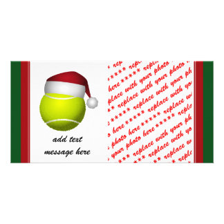 Christmas Tennis Ball Card