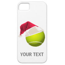 Christmas Tennis Ball Santa Hat iPhone SE/5/5s Case