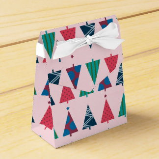 Christmas Tent Party Favor Boxes