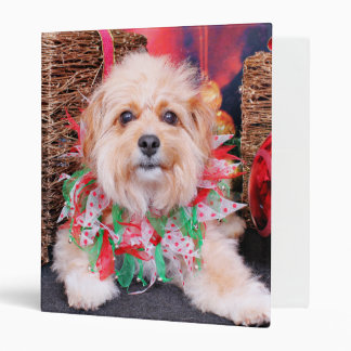 Christmas - Terrier X - Zoey Binders