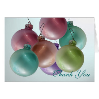 Christmas Thank You Stationery Note Card