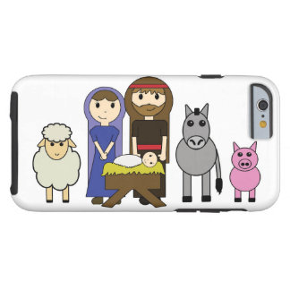 Christmas The Holy Family Nativity iPhone 6 Case
