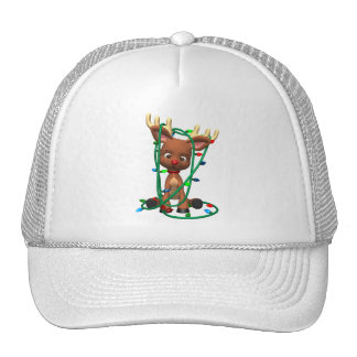 Christmas the Red Nosed Reindeer Trucker Hat