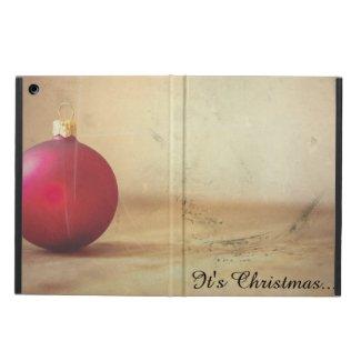 Christmas theme with Christmas ball Case For iPad Air