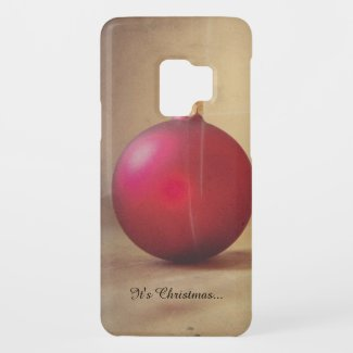 Christmas theme with Christmas ball Case-Mate Samsung Galaxy S9 Case