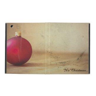 Christmas theme with Christmas ball iPad Case