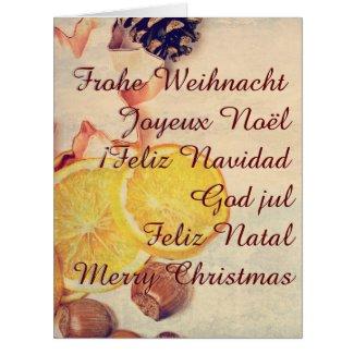 Christmas theme with Fruits...