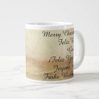 Christmas theme  with Fruits Giant Coffee Mug