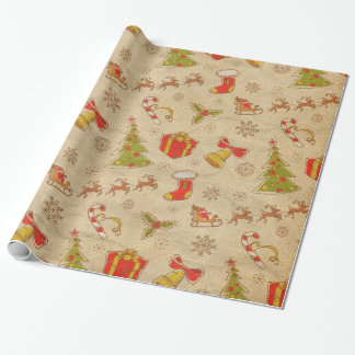 Christmas Theme Wrapping Paper