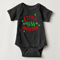 Christmas Themed Baby Outfit for Girl Baby Bodysuit