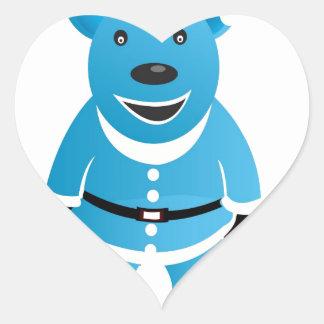 Christmas Themes Heart Sticker