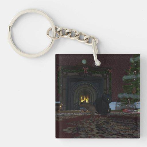 Christmas Thief Acrylic Keychain
