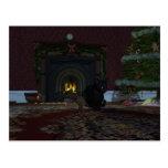Christmas Thief Postcard
