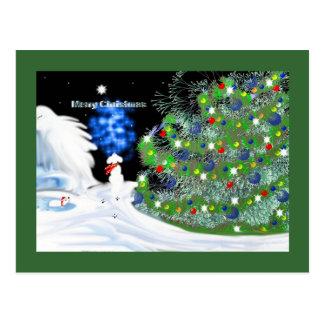 Christmas Thoughts Postcard