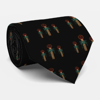Christmas Three Candles  2016 Tie