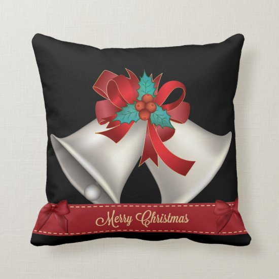 Christmas Throw Pillow - Personalize the Back