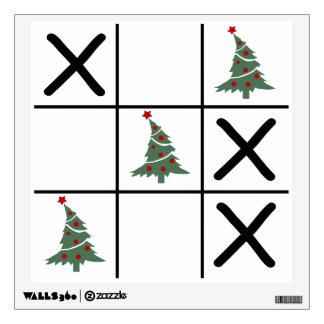 Christmas Tic Tac Toe Wall Sticker