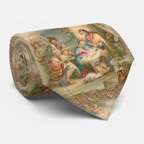 Christmas Tie, Jesus Christ Neck Tie