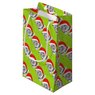 Christmas tiger small gift bag