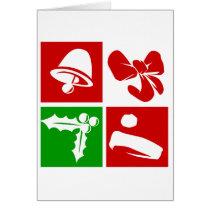 artsprojekt, christmas, xmas, holiday, season's greetings, Card with custom graphic design