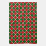 Christmas Tile Kitchen Towels