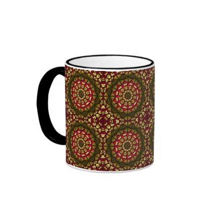 Christmas Tile Mug 12 Radial mug