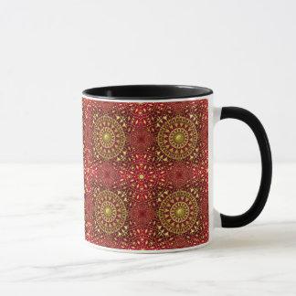 Christmas Tile Mug Rot 8
