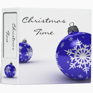 """Christmas Time - 2"""" Binder"""