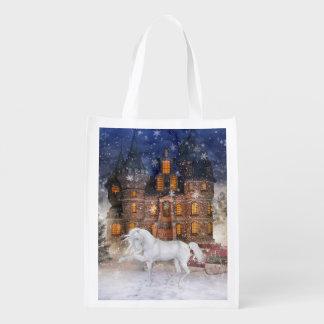 Christmas Time 4 Reusable Grocery Bag