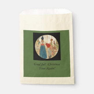 Christmas Time Again Julaftonen Favor Bag