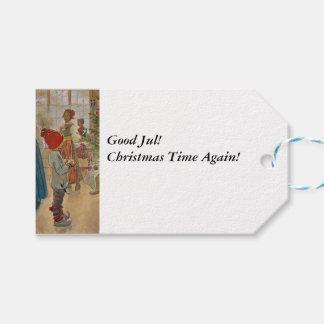 Christmas Time Again Julaftonen Gift Tags