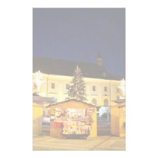 Christmas time at night in Sibiu Stationery
