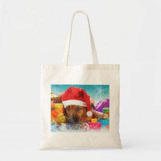 Christmas Time Canvas Bags