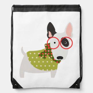 Christmas Time Bull Terrier Backpack