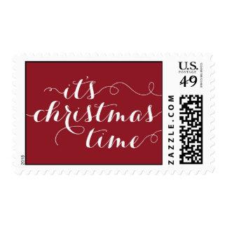 Christmas Time Holiday Postage