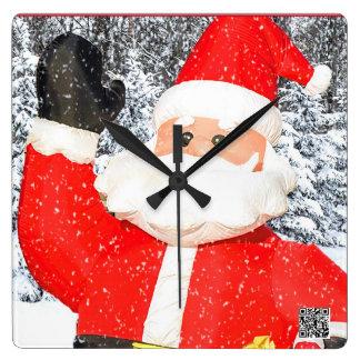 Christmas Time In Michigan Is Here Santa Clock