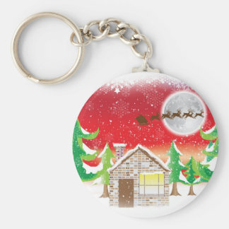 Christmas Time Keychain