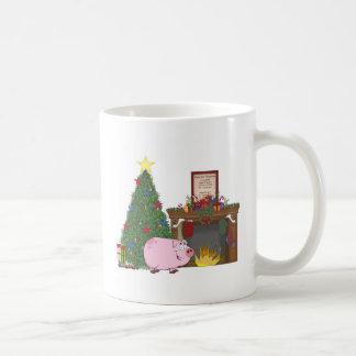 Christmas Time Pig Coffee Mug