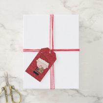 Christmas Time Pig Gift Tags