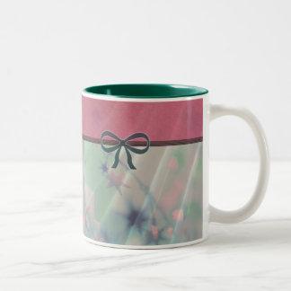 Christmas Tinsel Set Two-Tone Coffee Mug