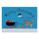 Christmas To Grandson Greeting Card
